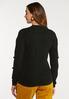 Black Pom Sleeve Sweater alternate view