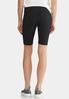 Black Stretch Shorts alternate view