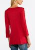 Plus Size Ladder Sleeve Knit Top alternate view