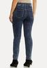 Center Seam Acid Wash Jeans alternate view