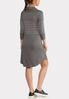 Cowl Neck Stripe Dress alternate view