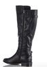 Wide Width Buckle Strap Riding Boots alternate view