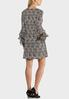 Triple Ruffled Sleeve Dress alternate view