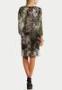 Plus Size Multi Print Sheath Dress alternate view