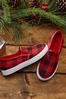 Plaid Slip- On Sneakers alternate view