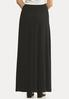Plus Size Ribbed Maxi Skirt alternate view