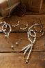 Romantic Rhinestone Pearl Earrings alternate view