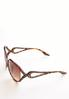 Rhinestone Side Round Sunglasses alternate view
