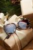 Tortoise Statement Sunglasses alt view