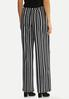 Petite Modern Stripe Wide Leg Pants alternate view