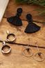 Linear Bead Earrings alternate view