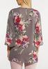 Floral Tie Front Tunic alternate view