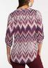 Printed Tunic Top alternate view