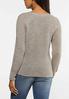 Brown Button Sweater alternate view