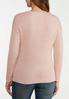 Pink Twist Front Sweater alternate view