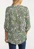 Plus Size Printed Pullover Top alt view