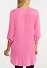 Plus Size Pleated Back Tunic alternate view