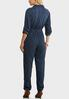 Chambray Utility Jumpsuit alternate view
