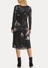 Marbled Midi Dress alternate view