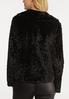 Black Fur Jacket alternate view