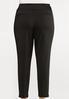 Plus Size Knit Slim Fit Pants alternate view