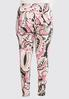 Plus Size Pink Paisley Leggings alternate view
