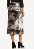 Plus Size Marble Dye Slip Skirt alternate view