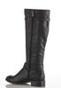 Wide Width Croc Inset Riding Boots alternate view