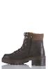 Wide Width Chunky Sole Hiker Boots alternate view