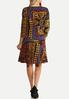 Plus Size Paisley Patchwork Swing Dress alternate view