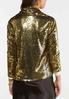 Gold Sequin Jacket alternate view