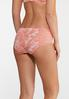 Coral And White Lace Panty Set alternate view