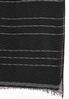 Textured Metallic Stripe Scarf alternate view