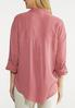Plus Size Relaxed Pocket Top alternate view