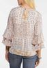 Blush Tiered Sleeve Top alternate view