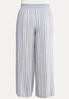 Plus Size Blue Linen Pants alternate view