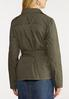 Plus Size Belted Utility Jacket alternate view