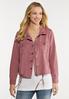 Plus Size Rose Utility Jacket alt view