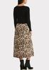 Leopard Slip And Sweater Dress Set alternate view