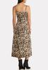 Leopard Slip And Sweater Dress Set alt view