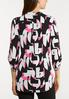 Plus Size Abstract Pullover Top alternate view