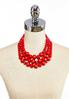 Layered Bead Statement Necklace alternate view