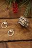 Lucite Ring Cross Earrings alternate view
