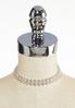 Rhinestone Collar Necklace alternate view