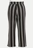 Plus Size Deco Rose Stripe Pants alternate view