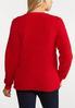 Plus Size Light Up Reindeer Sweatshirt alternate view