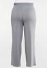 Plus Petite Stripe Knit Pants alternate view