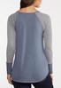Plus Size Thermal Terry Top alternate view