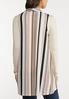 Plus Size Stripe Vest alternate view