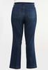 Plus Size Dark Wash Bootcut Jeans alternate view